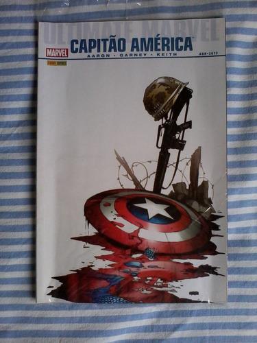 hq capitão américa ultimate (encadernado)