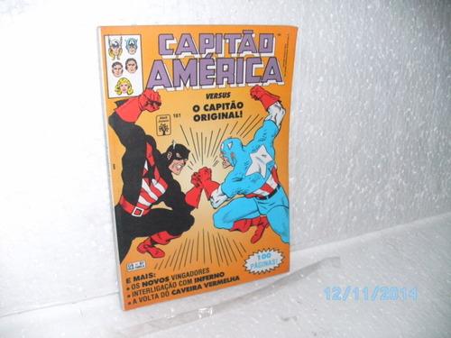 hq capitão américa vs o capitão original #161 -100 págs-1992