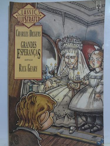hq classics illustrated  grandes esperanças nº 4 c. dickens