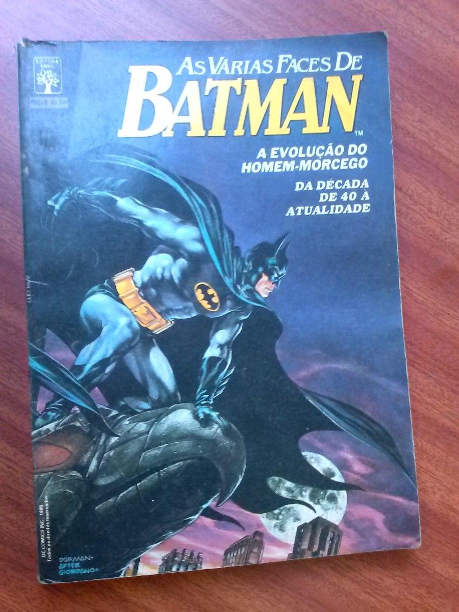 30d12458a85bb Hq - Dc- As Várias Faces De Batman 1 - R  15