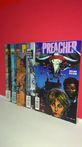 hq dc preacher nº4-5-6-7-8-até o fim do mundo completa em 5