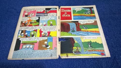 hq disney - gibi zé carioca nº 671 - setembro / 1964