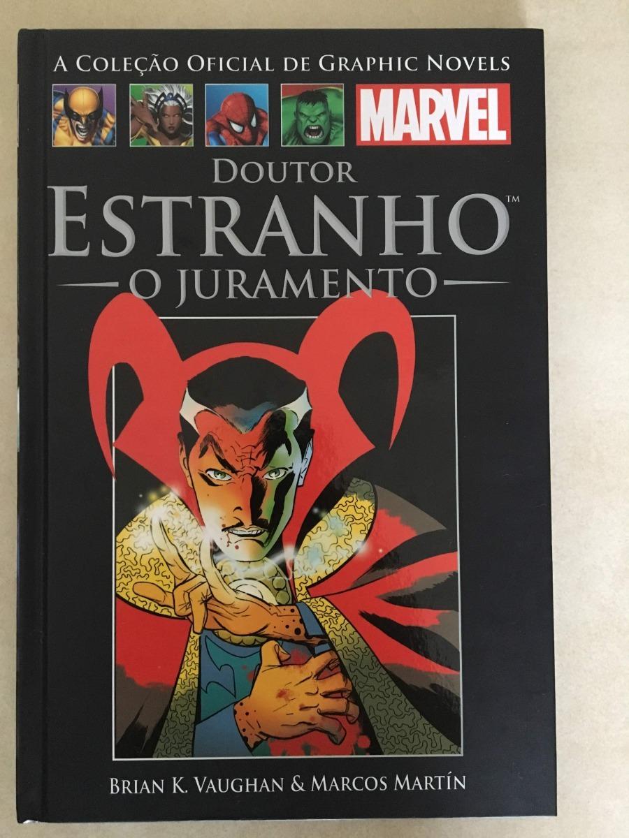 79acbda40c0 Hq Dr Estranho - O Juramento - Salvat  53 Capa Dura - R  23