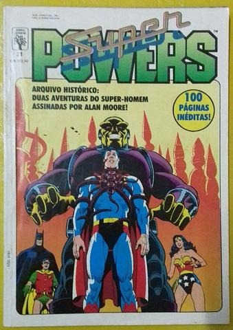 hq especial super powers  superman - 100 pág lacrada - vmshq