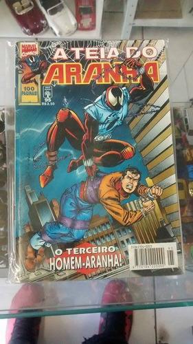 hq - gibi - a teia do aranha nº 95 marvel comics