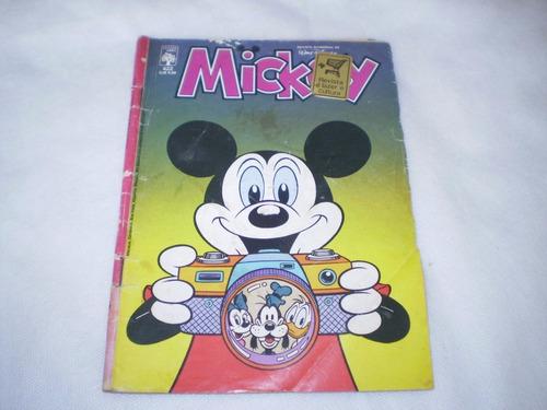 hq - gibi - disney - mickey nº 422 ano 1986