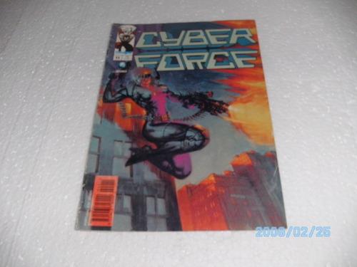 hq gibi image cyber force nº11 editora globo/1997 big oferta