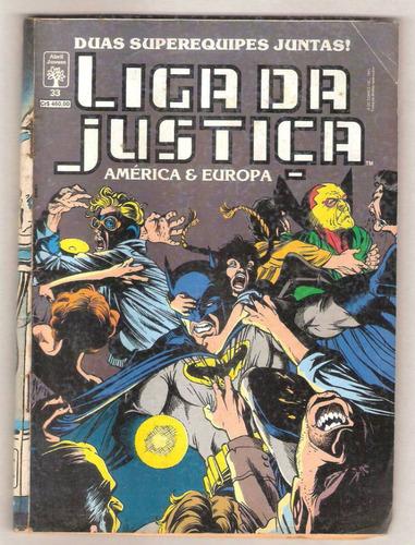 hq -gibi - marvel - liga da justiça américa nº33 ano 1991