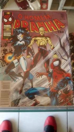 hq - gibi - o homem aranha nº 163 marvel comics