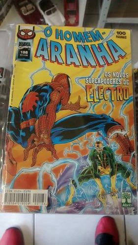 hq - gibi - o homem aranha nº 188 marvel comics