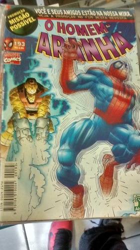 hq - gibi - o homem aranha nº 193 marvel comics