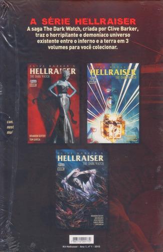 hq hellraiser the dark watch ed. de colecionador completa