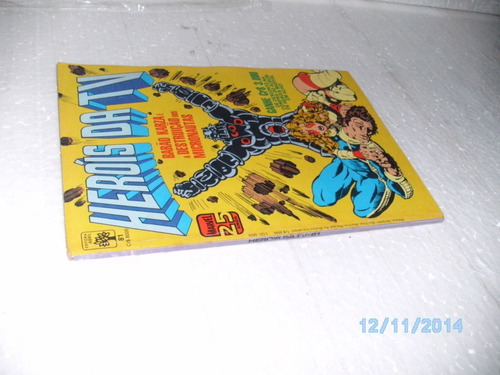 hq heróis da tv # 81 barão karza é:destruição micronaut-1986