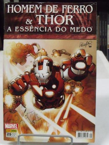 hq homem de ferro e thor a essência do medo - livro 5