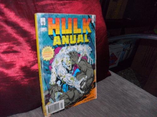hq hulk anual n°01 - lombada quadrada gibi