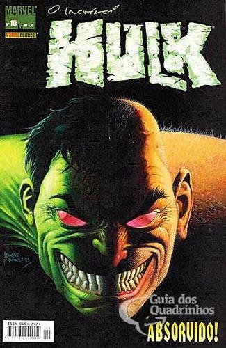 hq - hulk nº 10 ed panini ano 2004