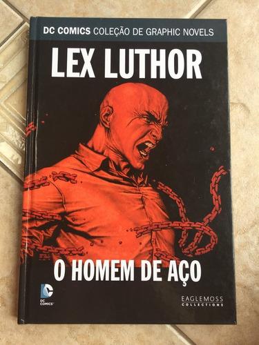 hq lex luthor o homem de aço