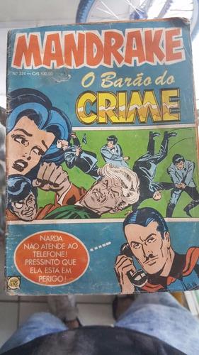 hq  mandrake o barão do crime bom estado