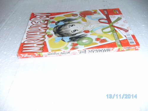 hq mangá marmalade boy vol. 1 watarv yoshizumi ed.panini fj