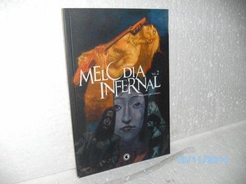 hq mangá melodia infernal vol. 2 lu ming mini-série em 2 edç