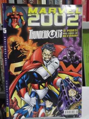 hq - marvel 2002 - nº5 - thunderbolts: a morte nas mãos de..