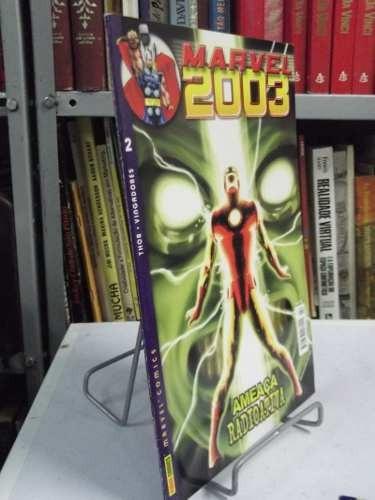 hq - marvel 2003 - nº2 - ameaça radioativa