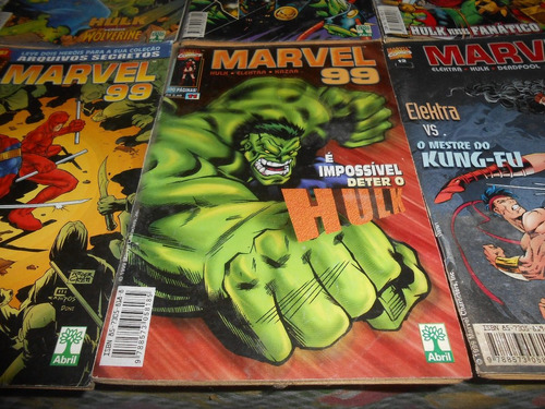 hq marvel 99 do numero 7 ao 12.