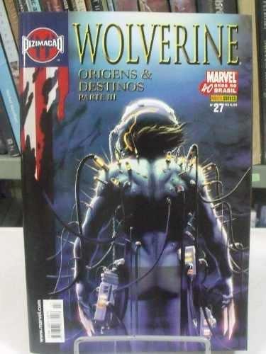 hq - marvel - wolverine - origens & destinos parte 3 - nº 27