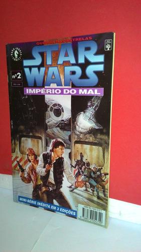 hq mini-série em 3 star wars nº2 império do mal - foto real