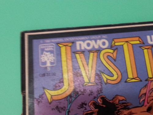 hq  novo universo justice  nº5, marvel!