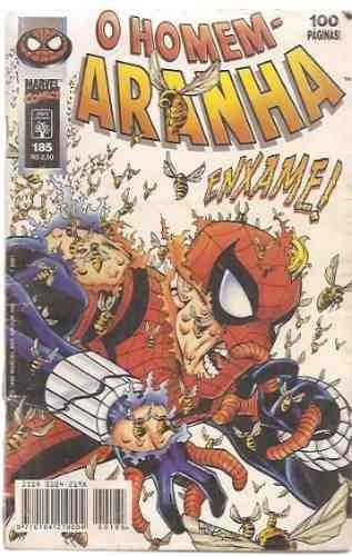 hq - o homem aranha nº 185 editora abril ano 1998