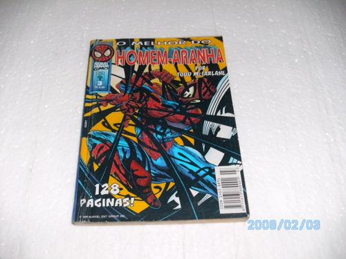 hq o melhor do homem aranha nº3 128 pág  p/todd mc farlane