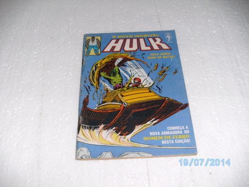 hq o novo incrível hulk nº87 abril/90 hulk jones:duro matar!