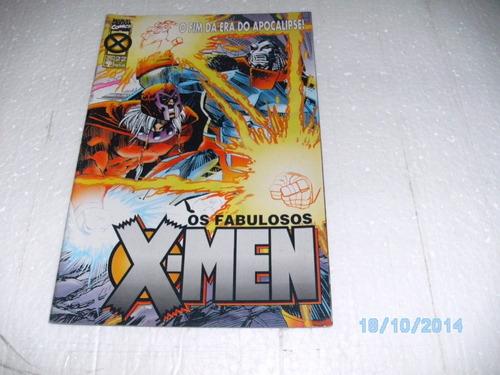 hq os fabulosos x-men #22 o fim da era do apocalipse gibi fj