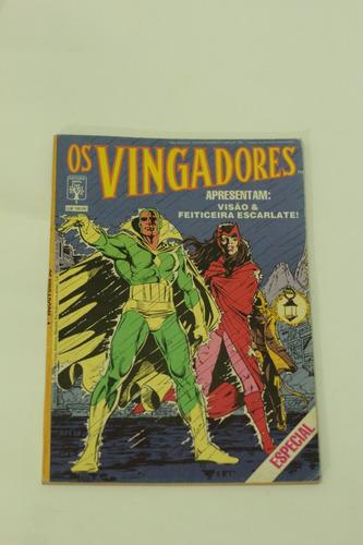 hq os vingadores especial n°1 editora abril gibi 1988