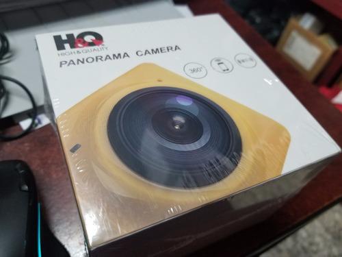 h&q panorama cubo camera 360° + wifi + envio gratis 1280 fps