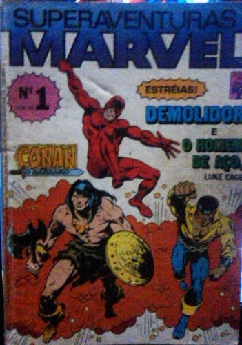 hq rara superaventuras marvel n. 1