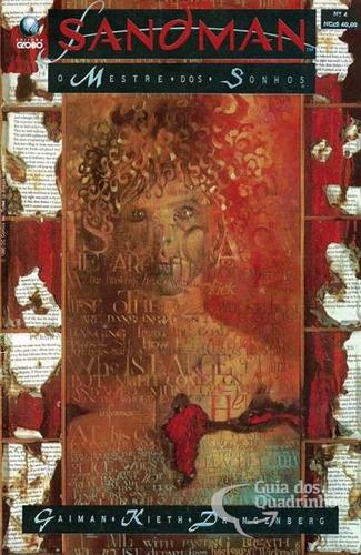 hq - sandman - o mestre dos sonhos nº 04 ano 1990
