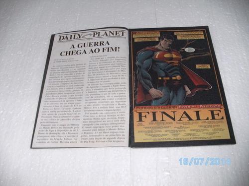 hq série planeta dc liga da justiça nº4 - editora abril/2002