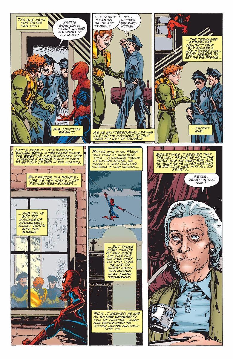 1999 J.M Webspinners Tales of Spider-Man No.1 DeMatteis /& Michael Zulli