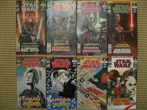 hq star wars - 8 edições + 2 brindes raros