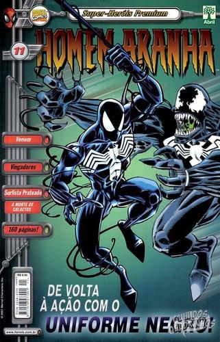 hq - super heróis premium - homem aranha nº11 ed abril 2001