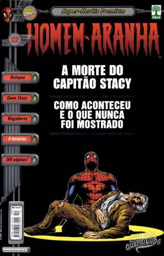 hq - super heróis premium - homem aranha nº12 ed abril 2001