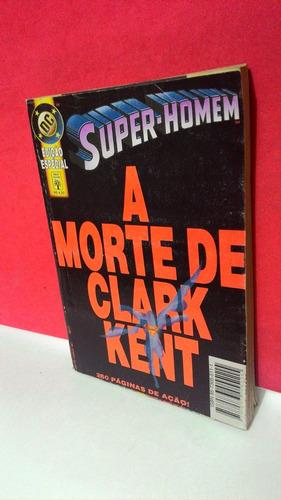 hq super homem edição especial a morte de clark kent 260 pág