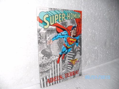 hq super-homem nº 79 adeus, terra ! *p/colecionador- ótima!!