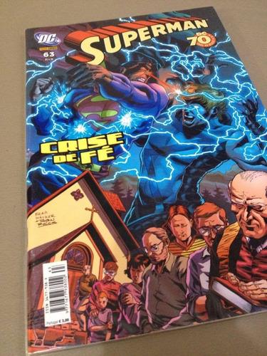 hq superman 63 panini estado de banca