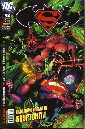 hq - superman & batman nº 42 ano 2009