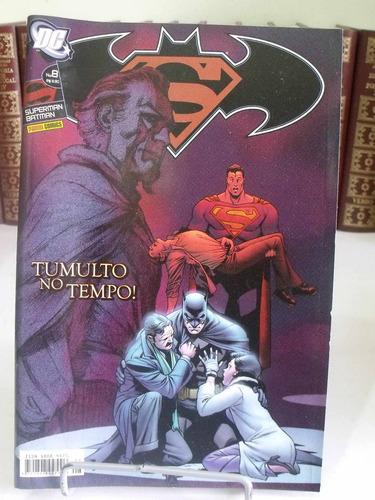 hq - superman & batman nº8 - tumulto no tempo!