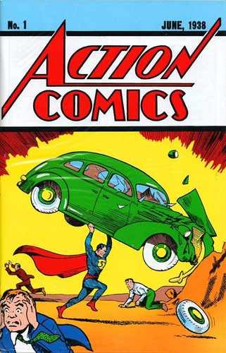 hq superman gibi no. 1 dc action comics + certificado