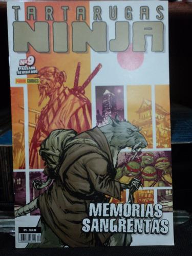hq-tartarugas ninjas:memorias sangrentas-vol.9:panini comics